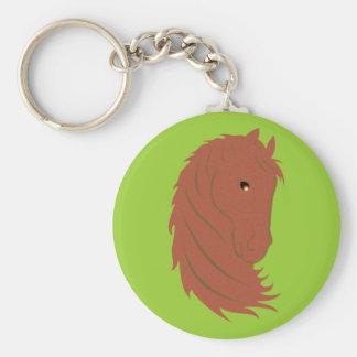 Horse head horse head key chains