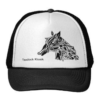 Horse Head Illustration Hat
