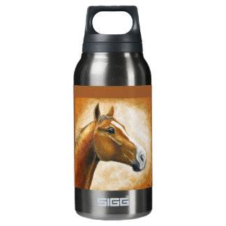horse head insulated water bottle
