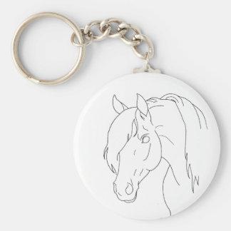 Horse Head Key Chains