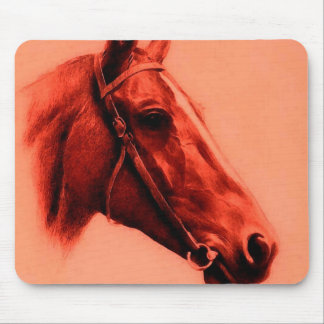 Horse Head Mouse Pad