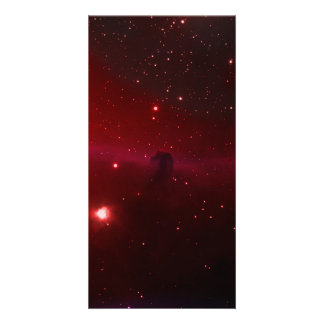 Horse Head Nebula Custom Photo Card