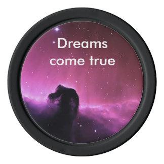 Horse head Nebula Poker Chips Set