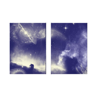 Horse head nebula Wrapped Canvas Gallery Wrap Canvas