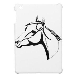Horse Head Outline iPad Mini Cases