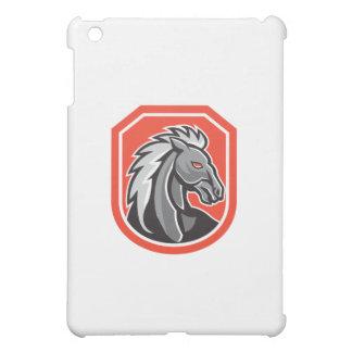Horse Head Shield Retro iPad Mini Covers
