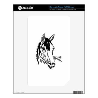 Horse head NOOK color skins