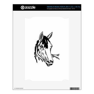 Horse head NOOK skins