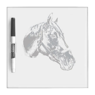 horse head stamp style Dry-Erase board