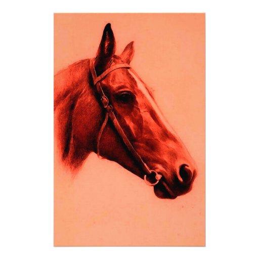 Horse Head Stationery