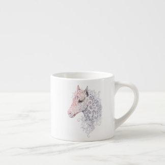 Horse Head Tattoo Espresso Cup
