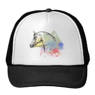 Horse Head Watercolors Trucker Hat