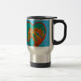 Horse Heart Travel Mug