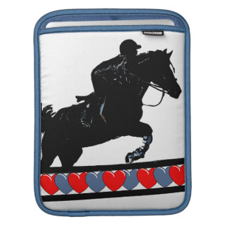 Horse & Hearts iPad Sleeve