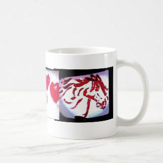 Horse & Hearts Photo 6750, Photo 6853 Classic White Coffee Mug