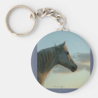 Horse Heaven Keychain