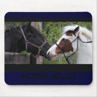 Horse Hello Mousepad