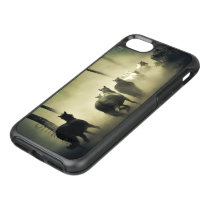 Horse Herd in the Mist OtterBox Symmetry iPhone SE/8/7 Case