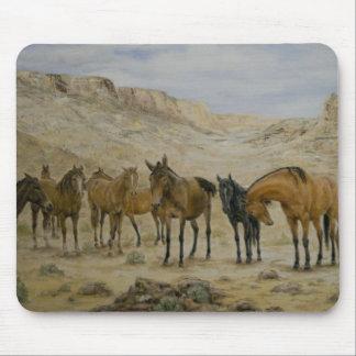 Horse Herd Mousepad