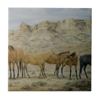 Horse Herd Tile part B