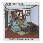 Horse Hiccups Poster