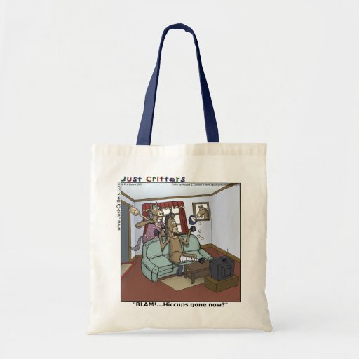 Horse Hiccups Tote Bag