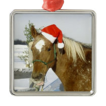 Horse Holiday Christmas Ornament
