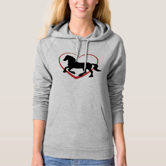 Horse Hoodie - Heavey Horse with Heart