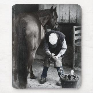 Horse Hoof Trim & Farrier Services Mouse Pad