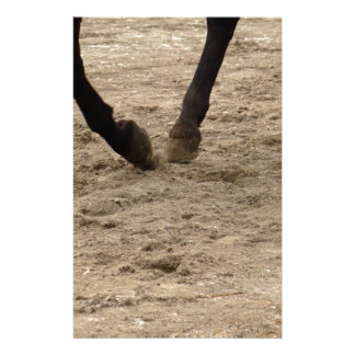 Horse hooves stationery