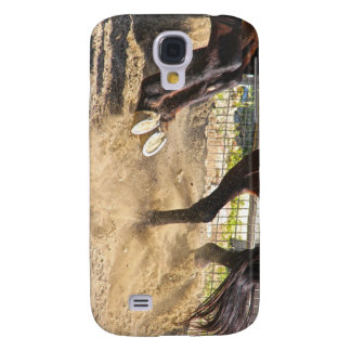 Horse hooves trampling the dirt. galaxy s4 case
