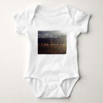 Horse Hope Baby Bodysuit