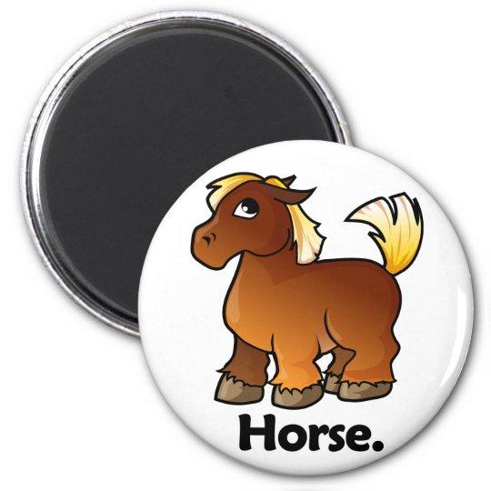 Horse Horse. Magnet