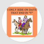 horse horseback rider riding sticker