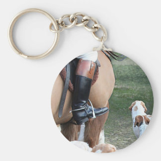 Horse & Hounds Keychain