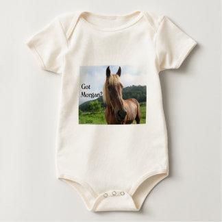 Horse Humor: Got Morgan? Baby Bodysuit