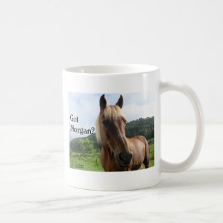 Horse Humor: Got Morgan? Mugs