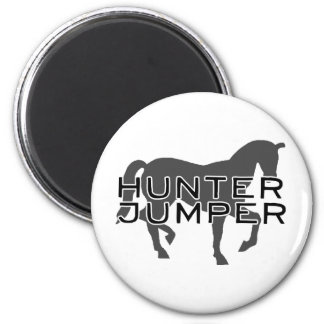 Horse - Hunter Jumper with Pretty Horse Magnet