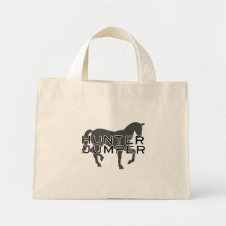 Horse - Hunter Jumper with Pretty Horse Mini Tote Bag