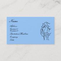 Horse Illustration Business Card