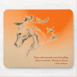 Horse Illustration Mousepad - Danc... - Customized