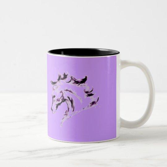 Horse Illustration Mug - Dance Quote