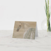 Horse Image Thank You Card