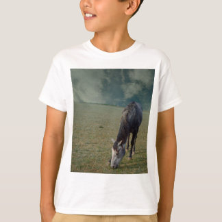 Horse_In_A_Paddock,_ T-Shirt