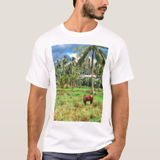 Horse in a Pasture T-Shirt
