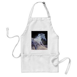 Horse in Action Adult Apron