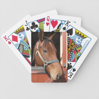 Horse in Barn Deck Of Cards