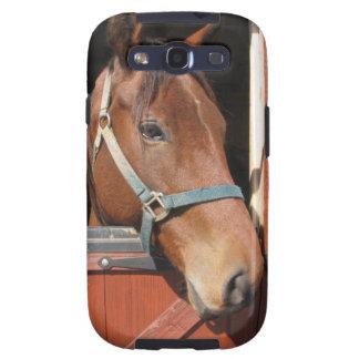 Horse in Barn Galaxy SIII Covers