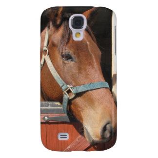 Horse in Barn Samsung Galaxy S4 Case
