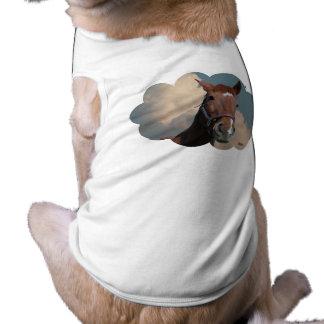 Horse in Cloud 01 Pet T Shirt